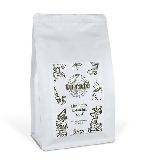 Bezkofeinowa Kolumbia z procesu Sugar Cane